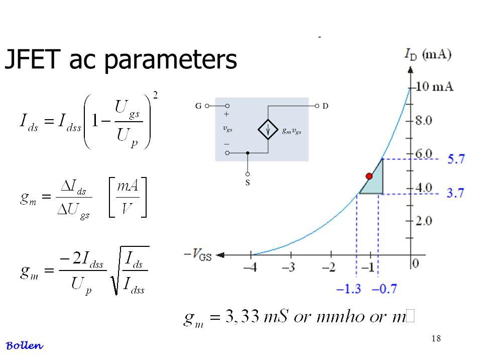 18 JFET ac parameters Bollen