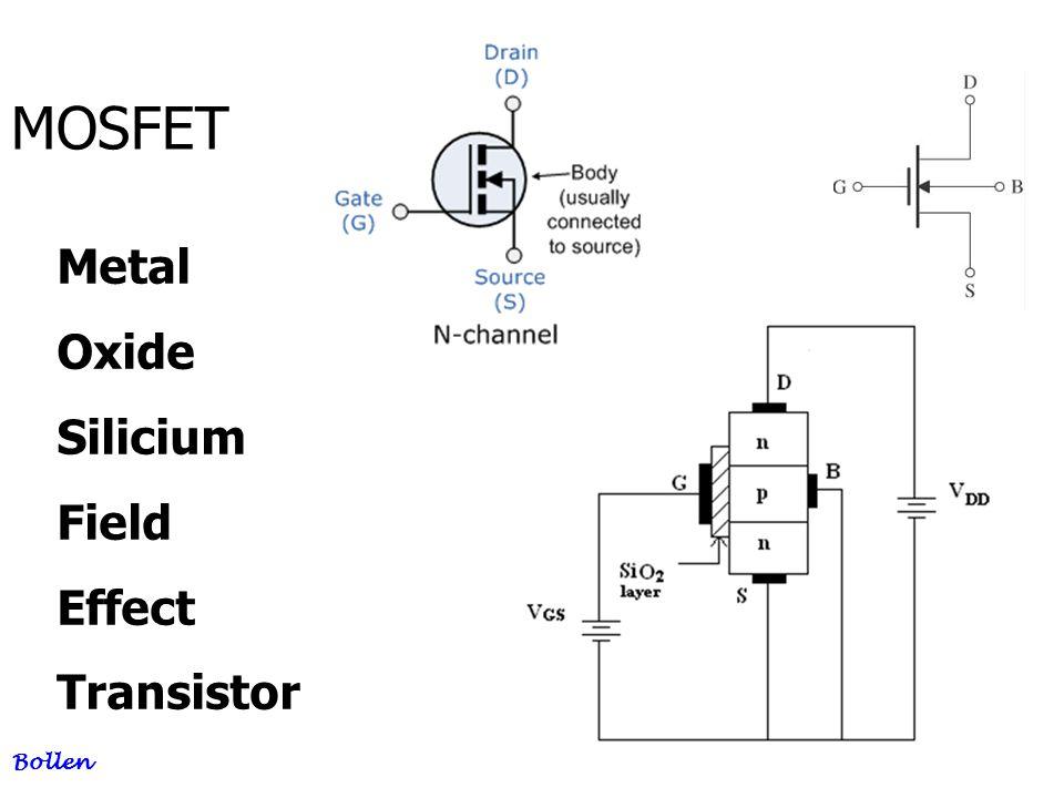 24 MOSFET Bollen Metal Oxide Silicium Field Effect Transistor