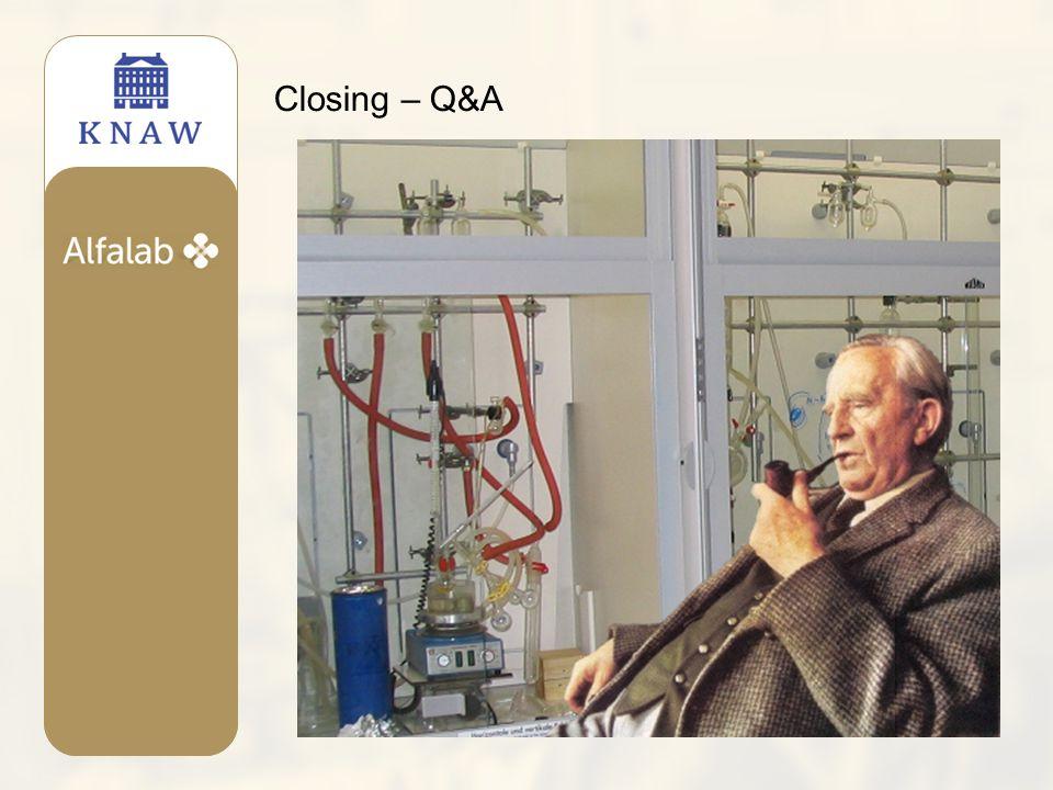 Closing – Q&A