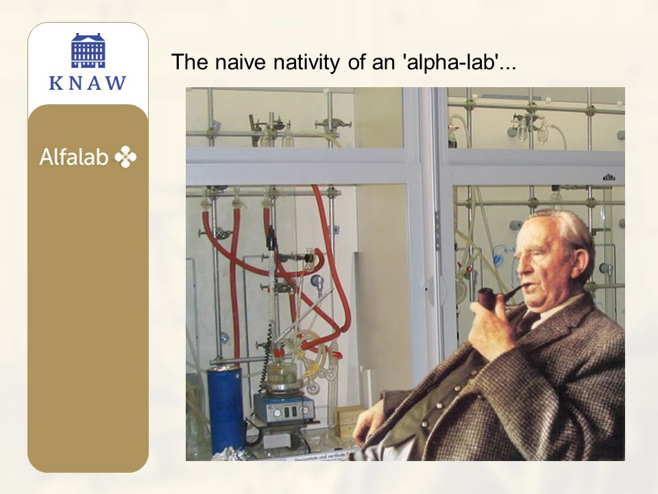 The naive nativity of an alpha-lab ...