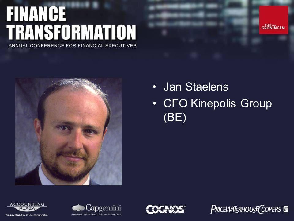 Jan Staelens CFO Kinepolis Group (BE)