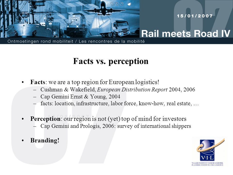 Facts: we are a top region for European logistics.