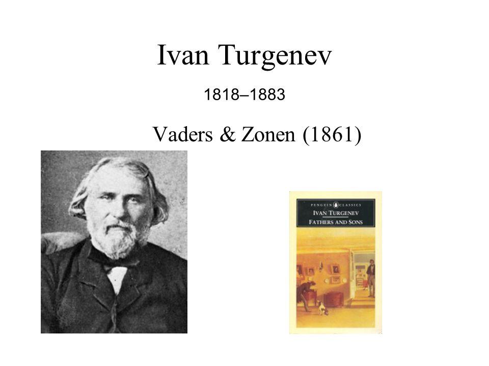 Ivan Turgenev 1818–1883 Vaders & Zonen (1861)