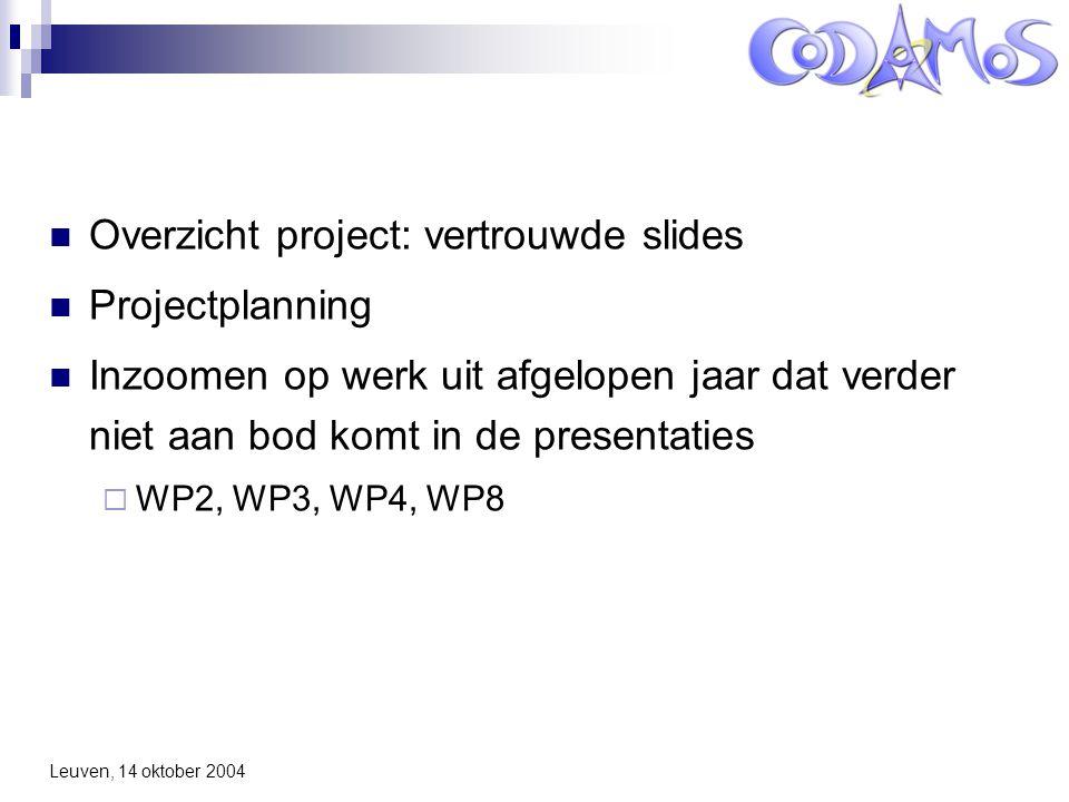 WP2: Context-Driven Implementation Generation
