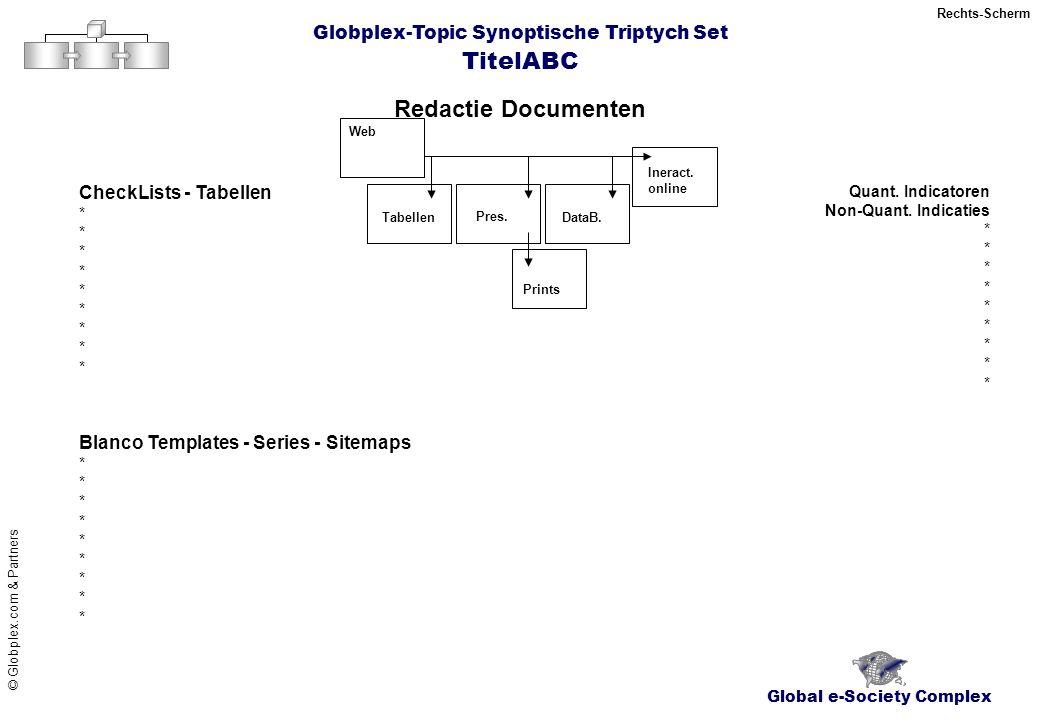 TitelABC Global e-Society Complex © Globplex.com & Partners Web Tabellen Pres.