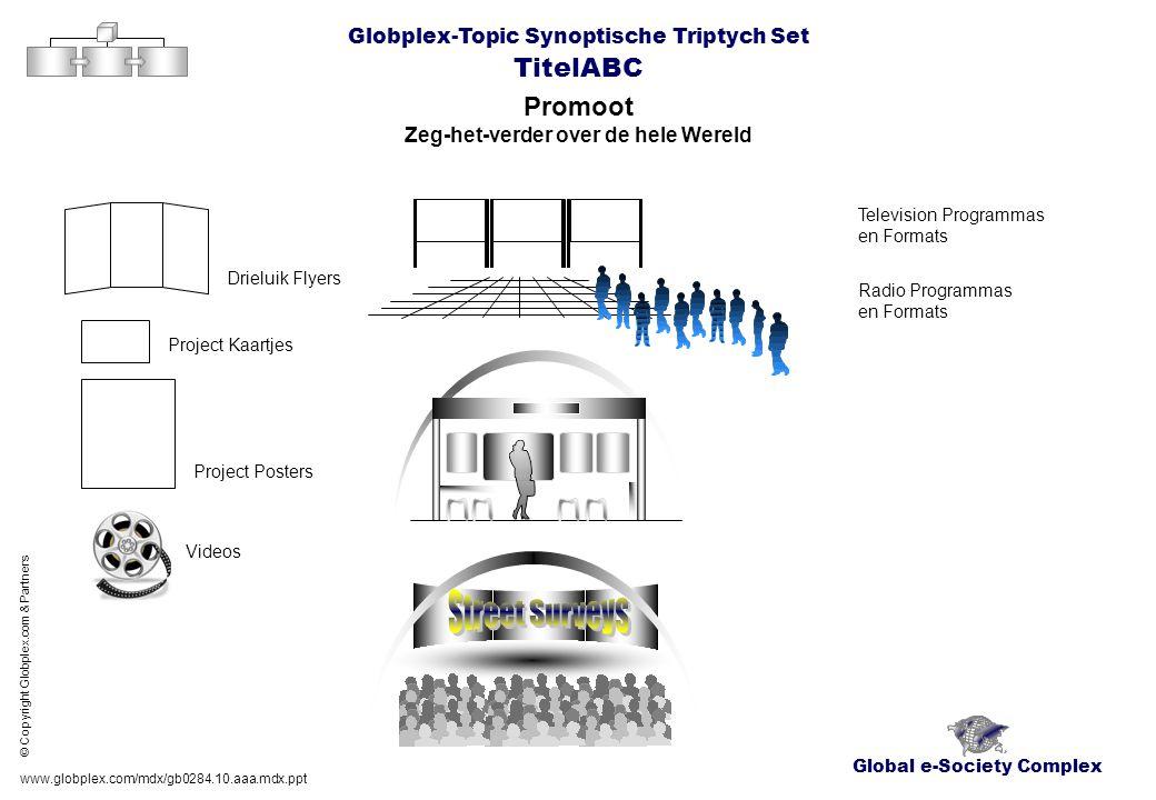 Global e-Society Complex Globplex-Topic Synoptische Triptych Set TitelABC Promoot Zeg-het-verder over de hele Wereld www.globplex.com/mdx/gb0284.10.aa
