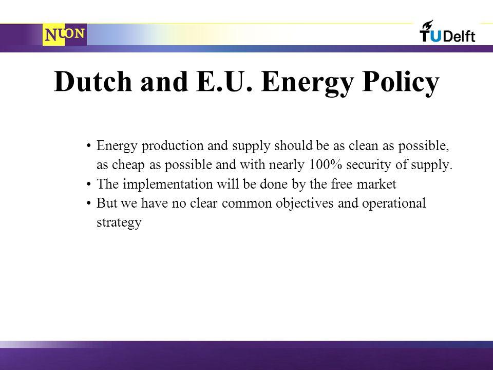 Dutch and E.U.