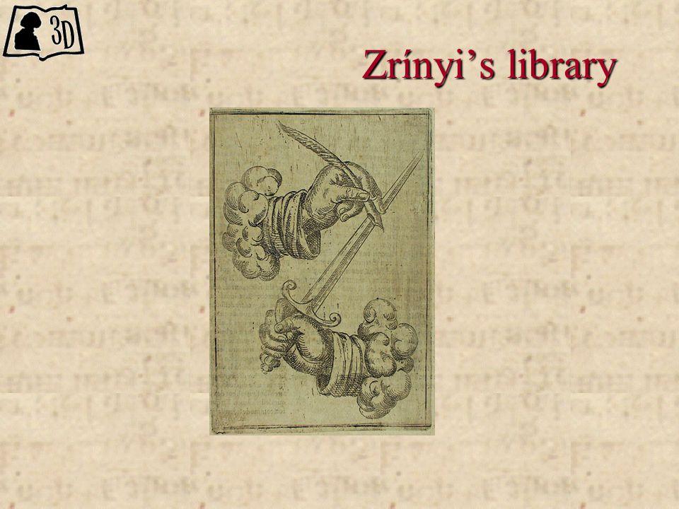 Zrínyi's library