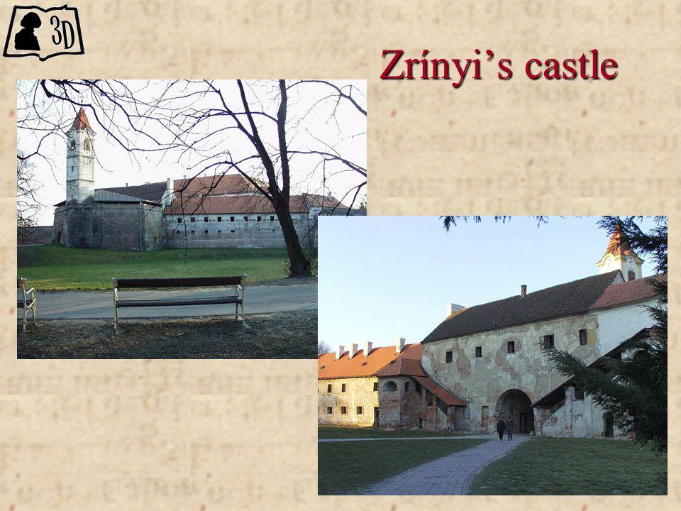 Zrínyi's castle