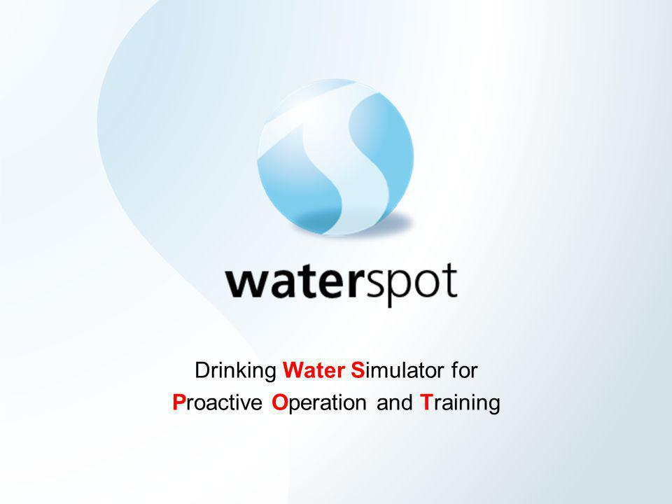 Drinking Water Simulator for Proactive Operation and Training