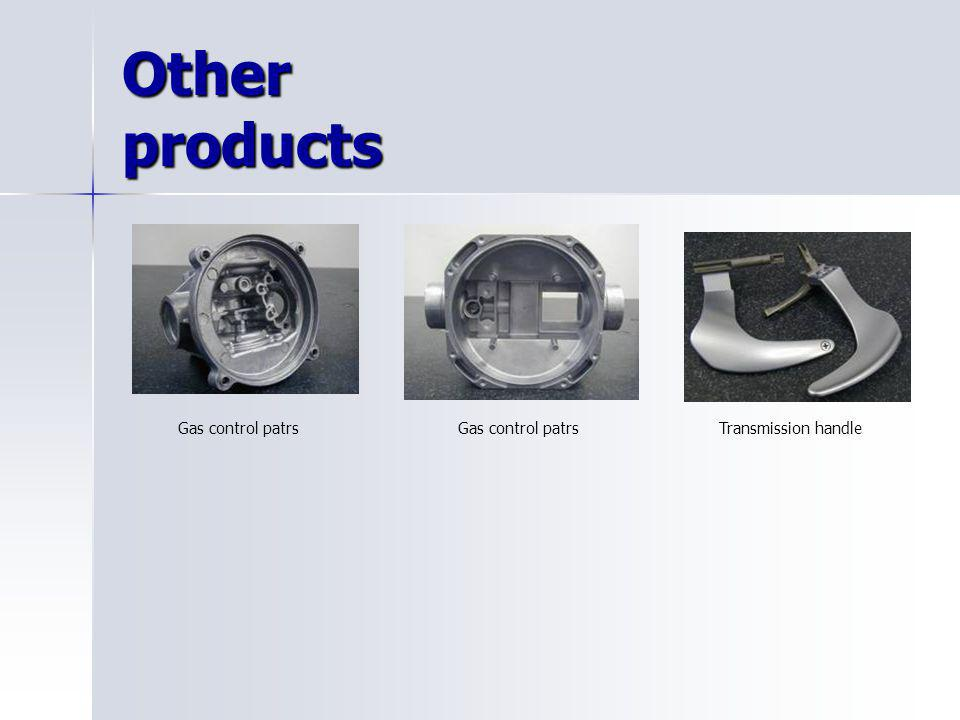 Other products Gas control patrsTransmission handleGas control patrs