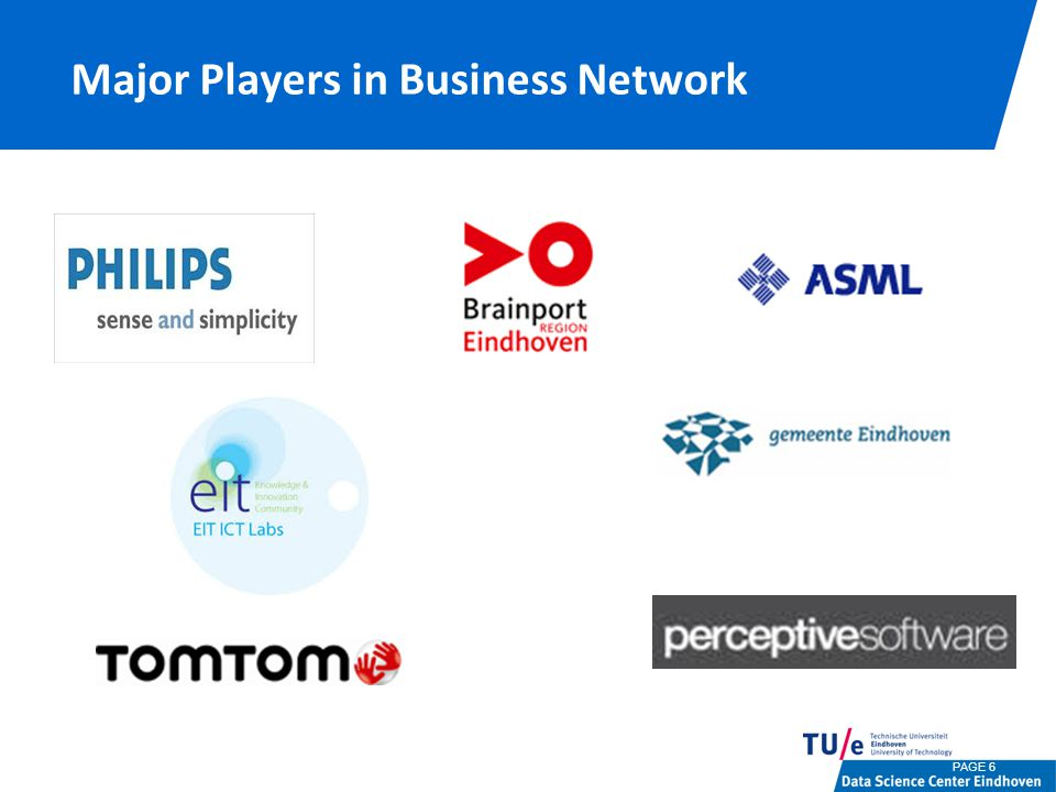 Major Players in Business Network PAGE 6