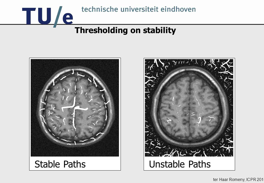Thresholding on stability Stable Paths Unstable Paths