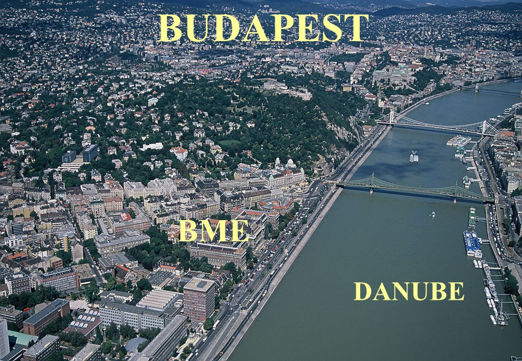 P.Moson, BME, Hungary 18 BUDAPEST BME DANUBE