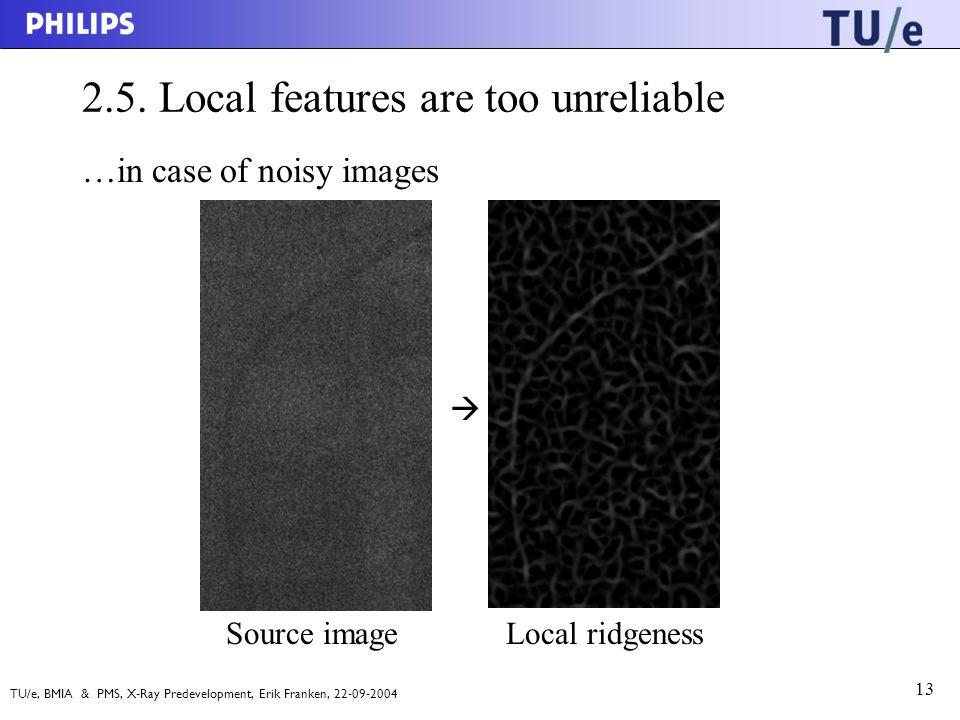 TU/e, BMIA & PMS, X-Ray Predevelopment, Erik Franken, 22-09-2004 13 2.5.