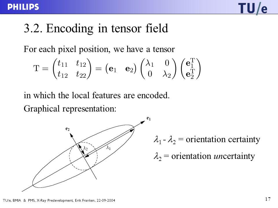 TU/e, BMIA & PMS, X-Ray Predevelopment, Erik Franken, 22-09-2004 17 3.2.