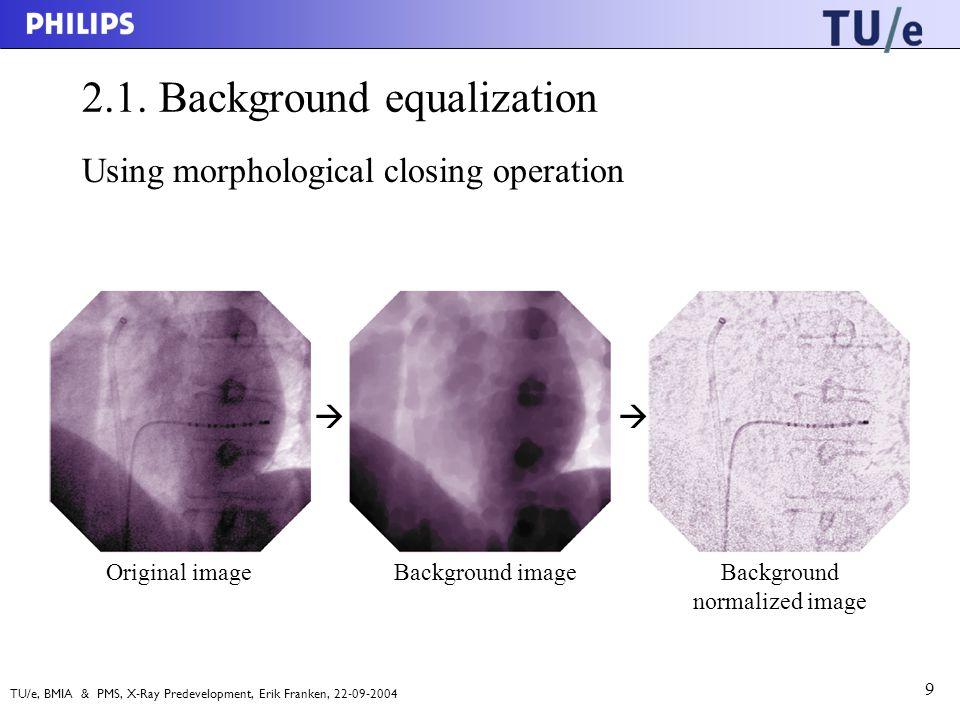 TU/e, BMIA & PMS, X-Ray Predevelopment, Erik Franken, 22-09-2004 9 2.1.