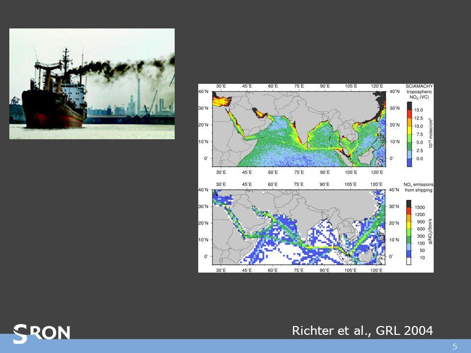 5 Richter et al., GRL 2004