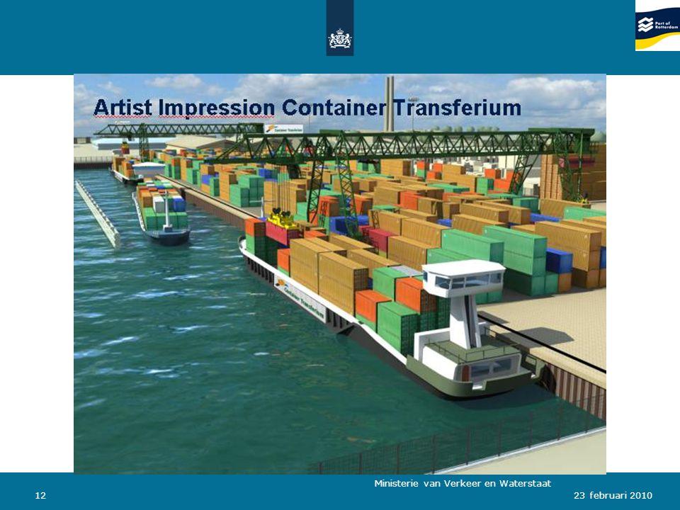 Ministerie van Verkeer en Waterstaat 1223 februari 2010