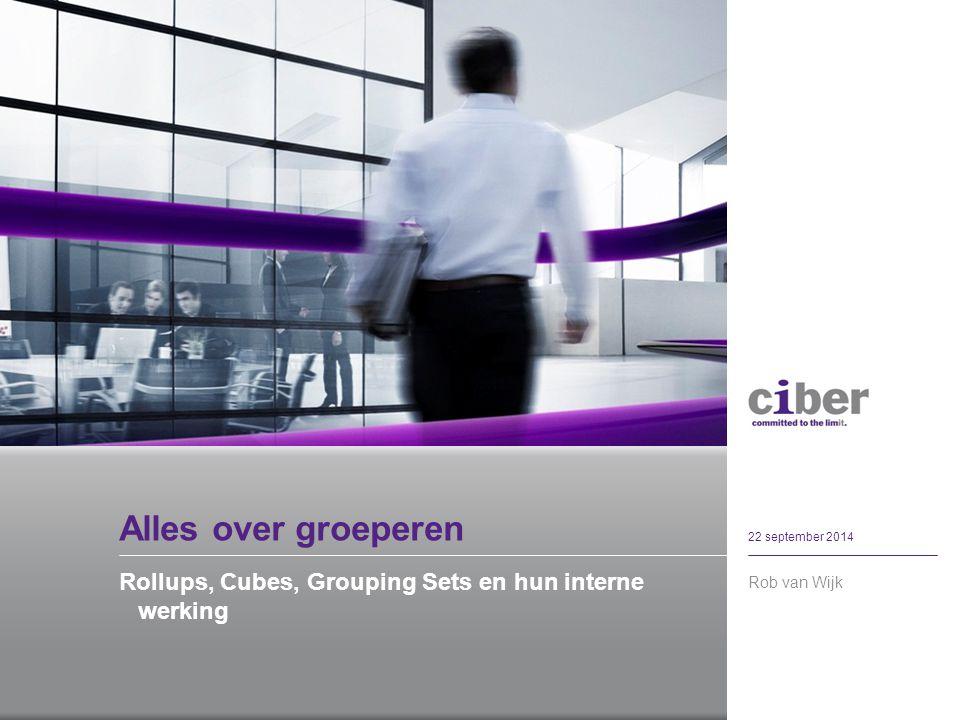 Wie ben ik Rob van Wijk 22 september 2014 Oracle ontwikkelaar Utrecht