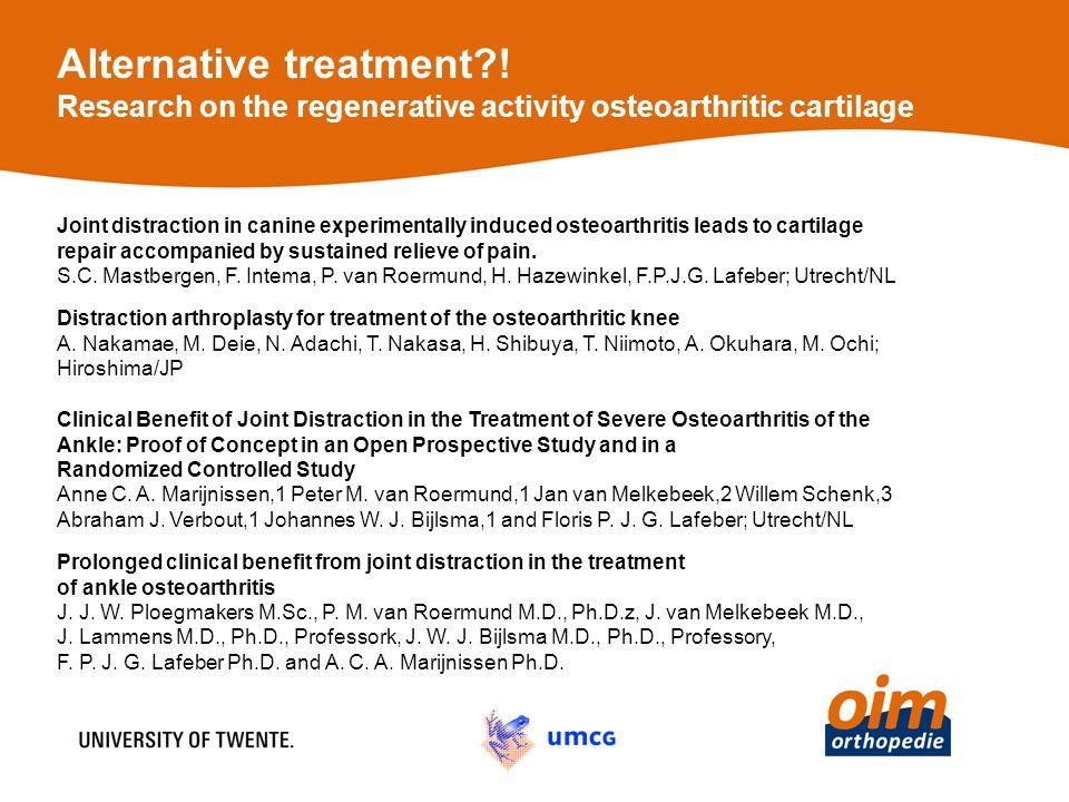 Alternative treatment?.