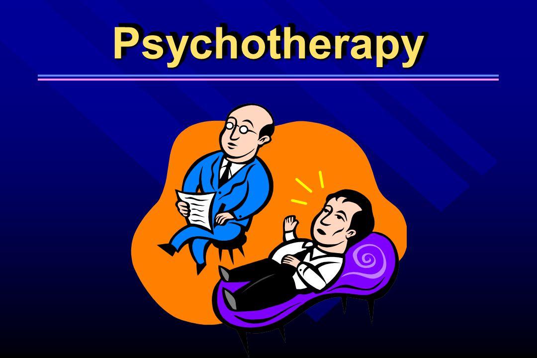 PsychotherapyPsychotherapy