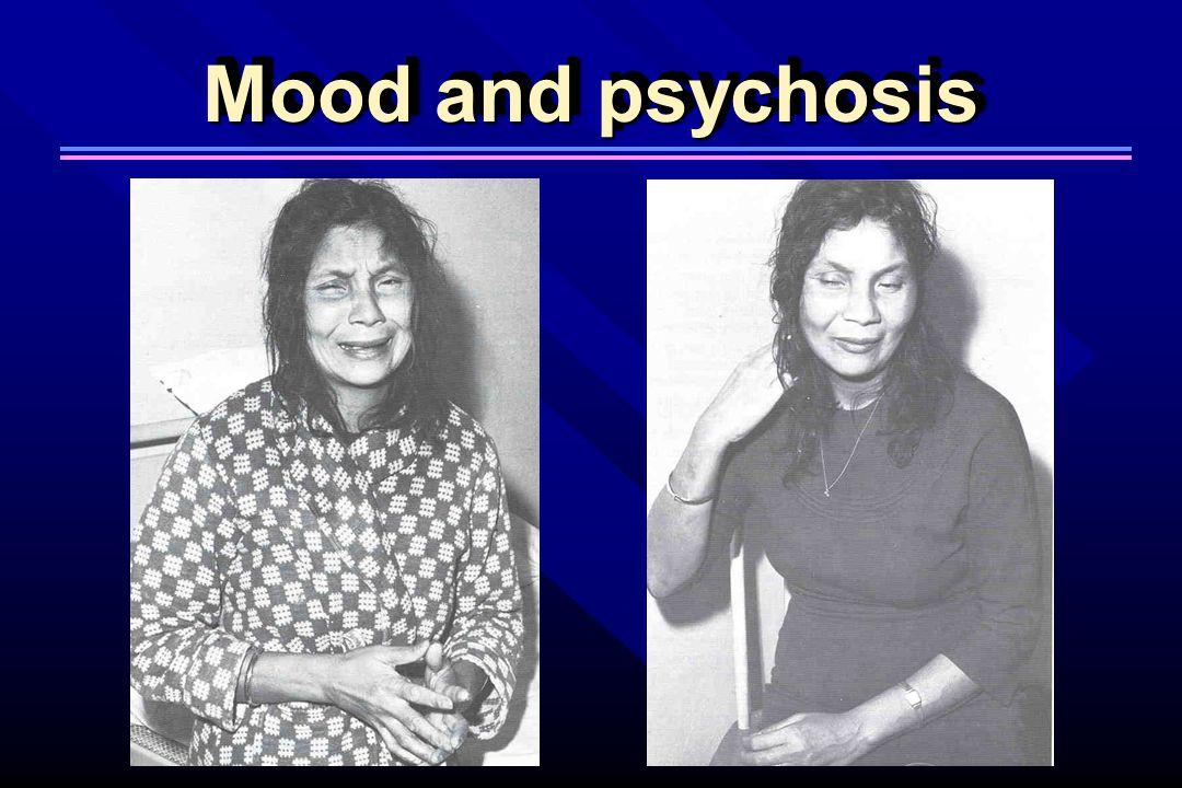 Mood and psychosis