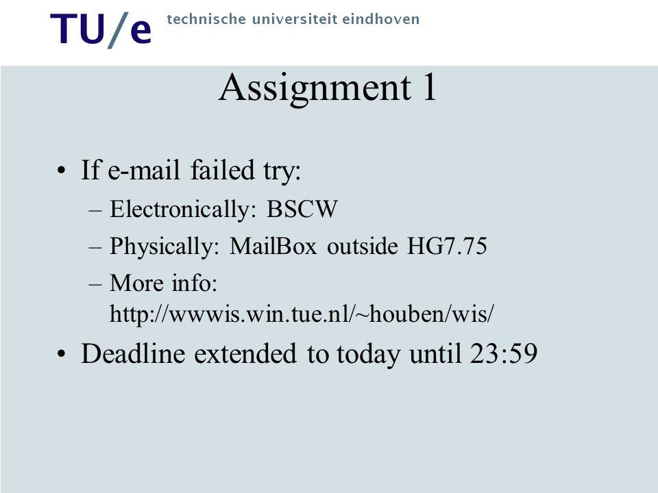 TU/e technische universiteit eindhoven Semantic Web Applications Kees van der Sluijs