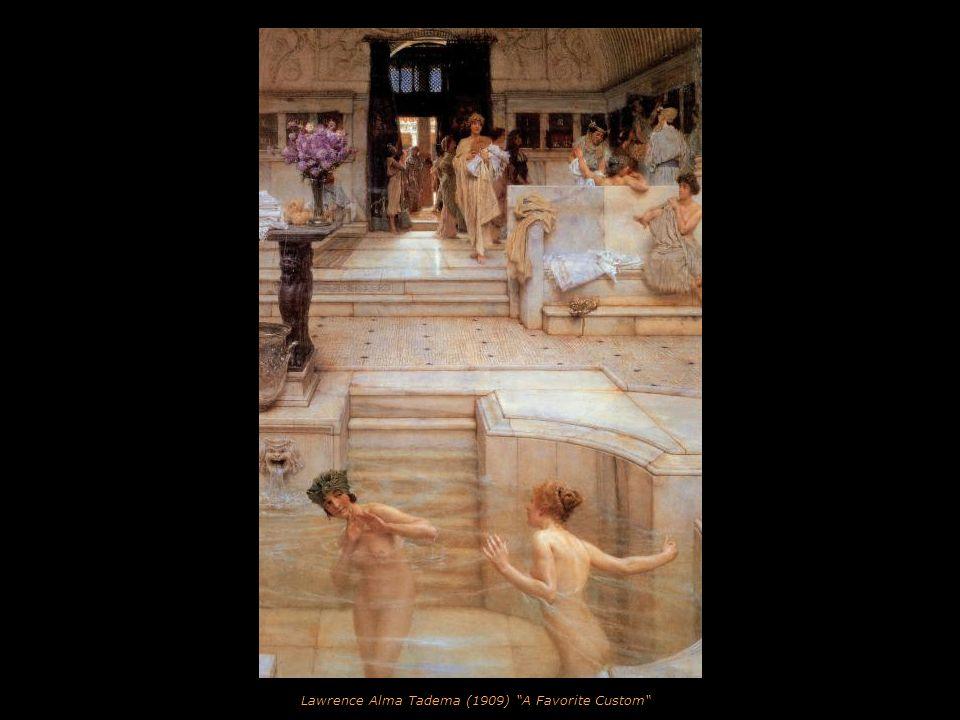 Lawrence Alma Tadema (1906) Ask me no more