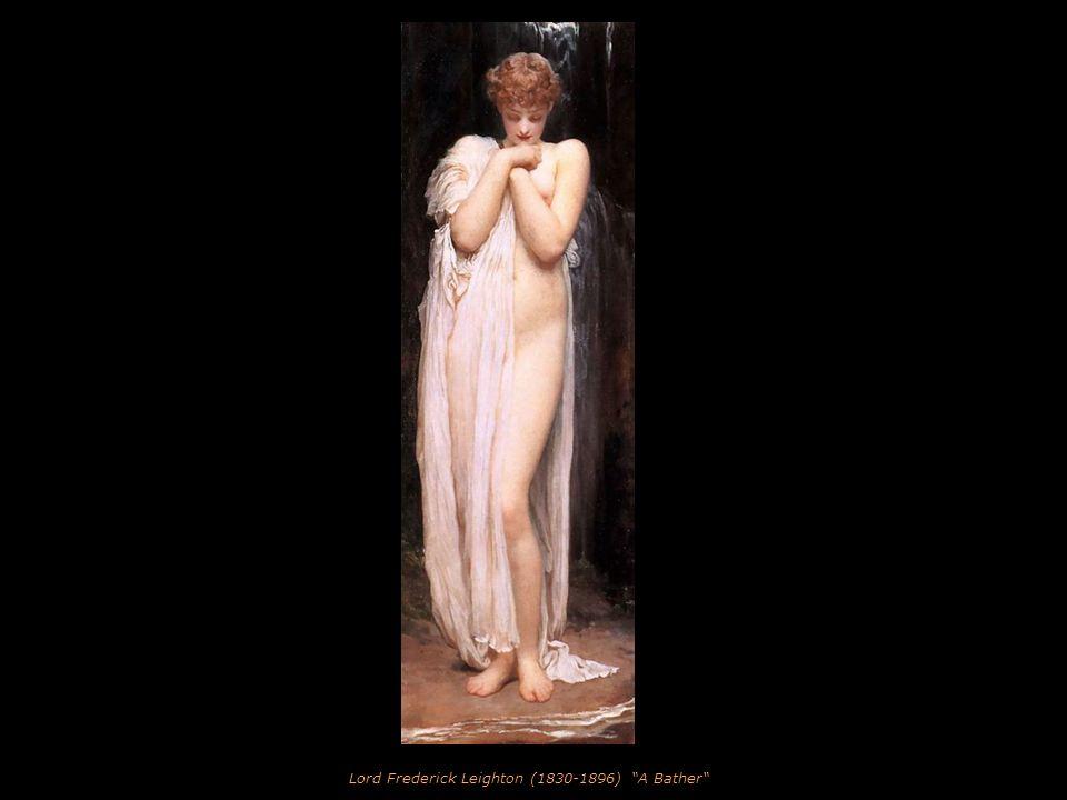 Jules Lefebvre (1836-1912) l'Amour Blesse