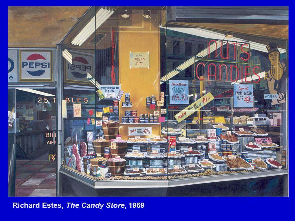 Richard Estes, The Candy Store, 1969