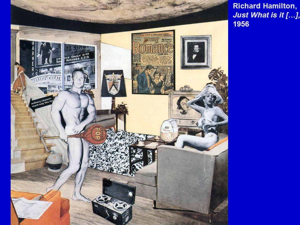 Richard Hamilton, Just What is it […], 1956