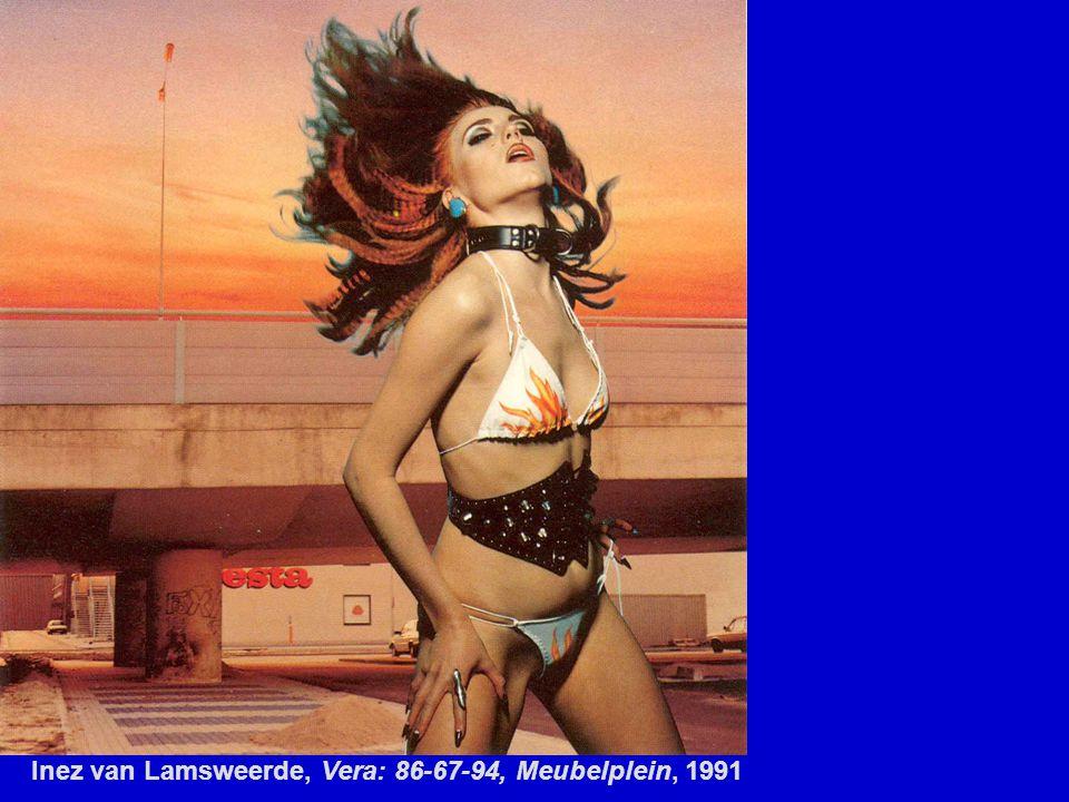 Inez van Lamsweerde, Vera: 86-67-94, Meubelplein, 1991
