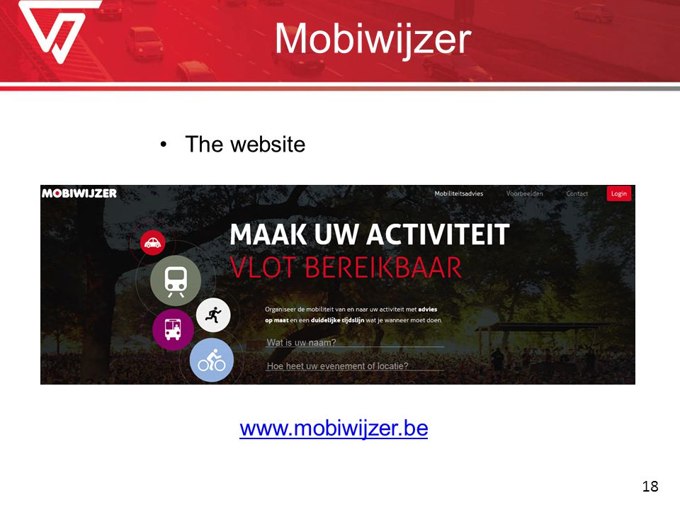 Mobiwijzer The website   18