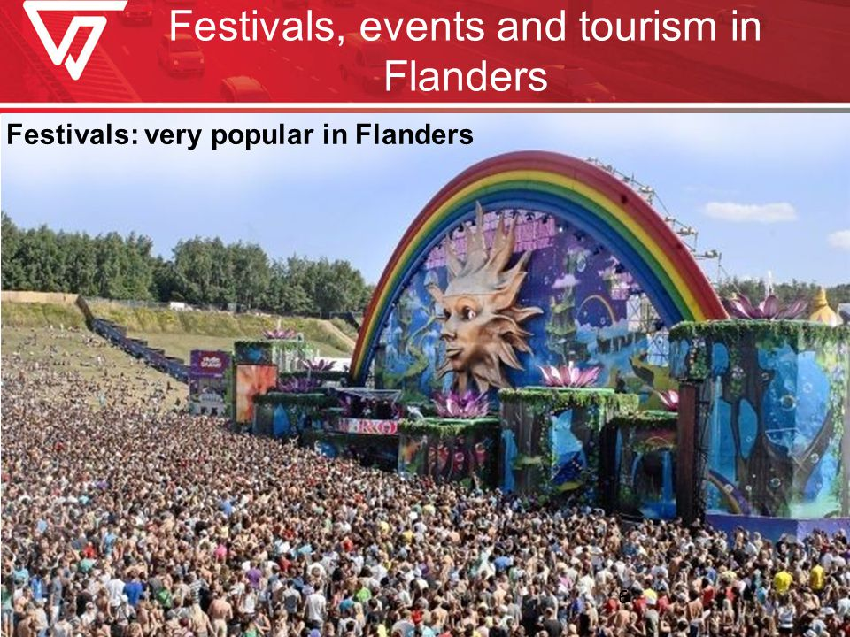 Festivals, events and tourism in Flanders Festivals: very popular in Flanders 6