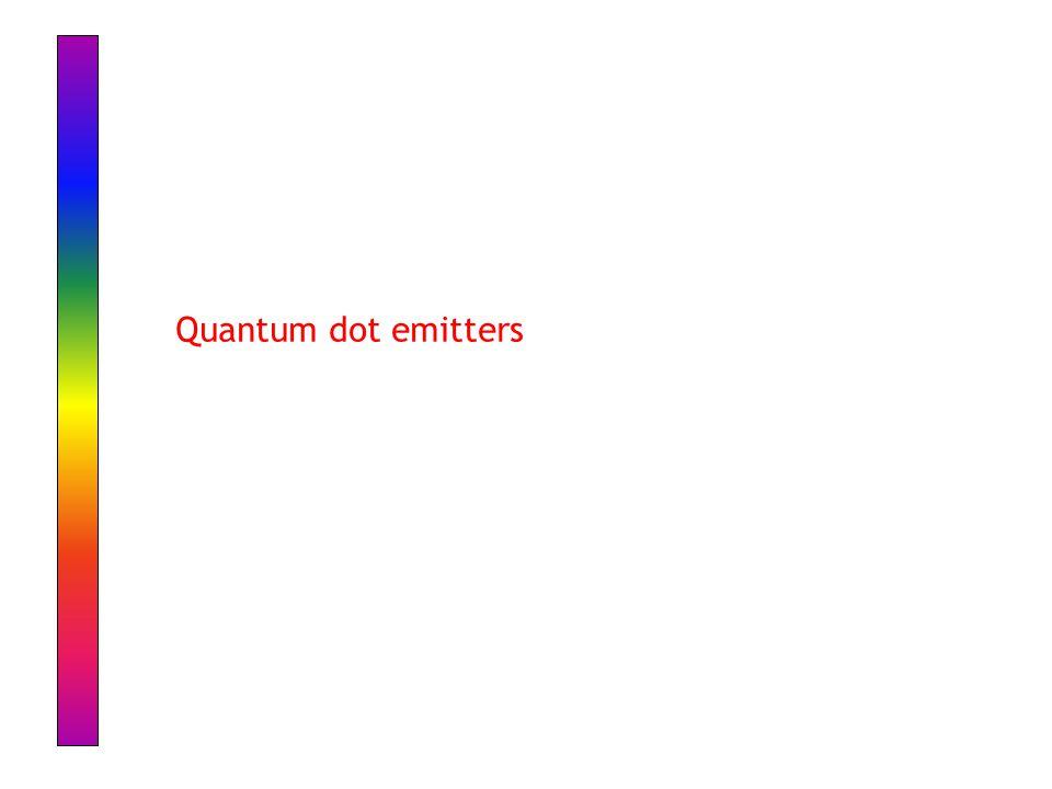 Quantum dot emitters