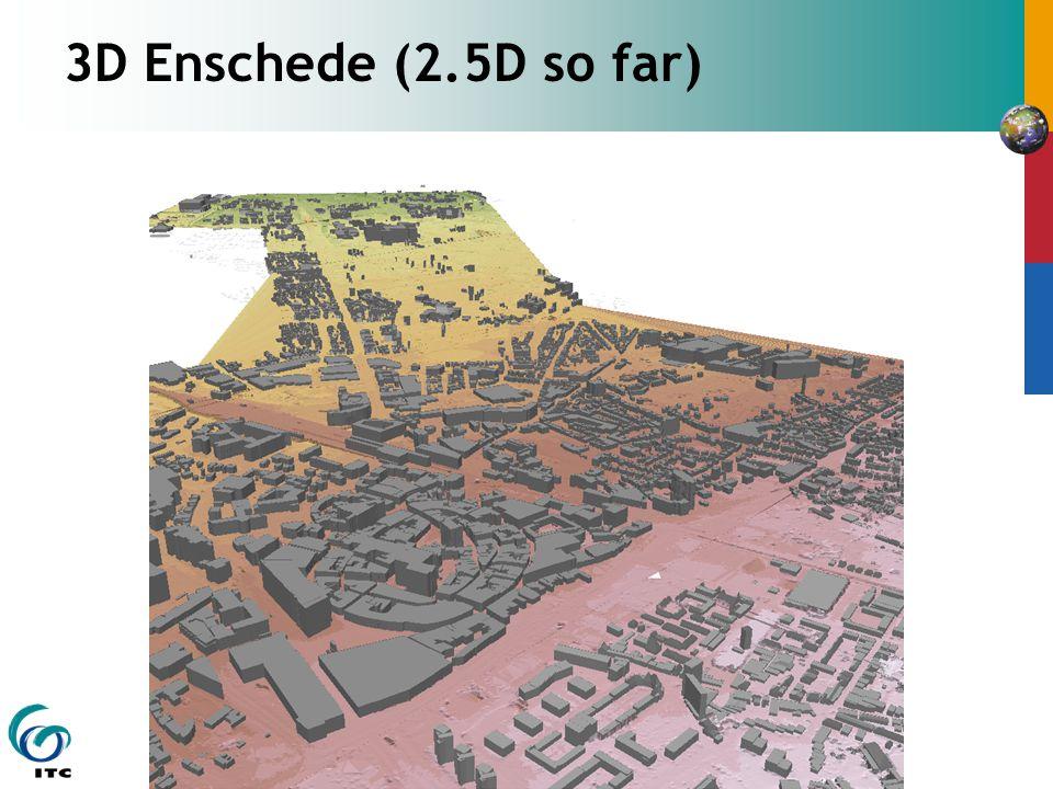 3D Enschede (2.5D so far)