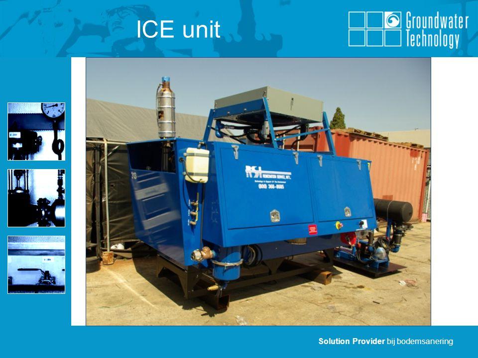 Solution Provider bij bodemsanering ICE unit