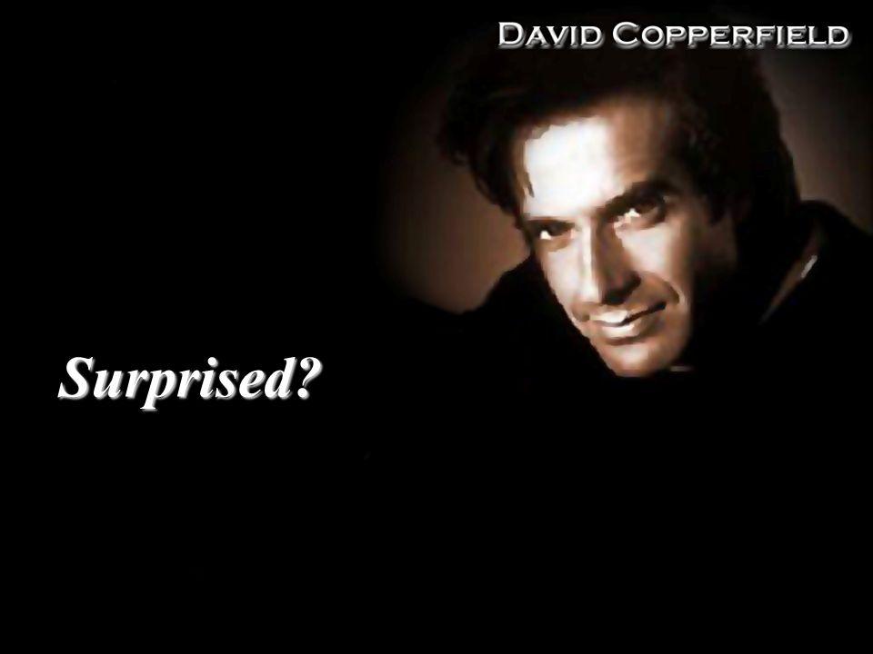 Surprised?