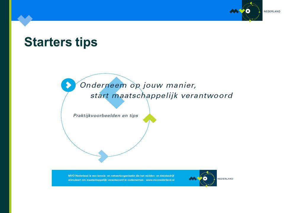 Starters tips