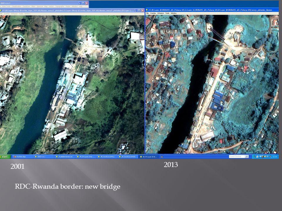 Bukavu harbor: alluvial fan development and constructions 20012013