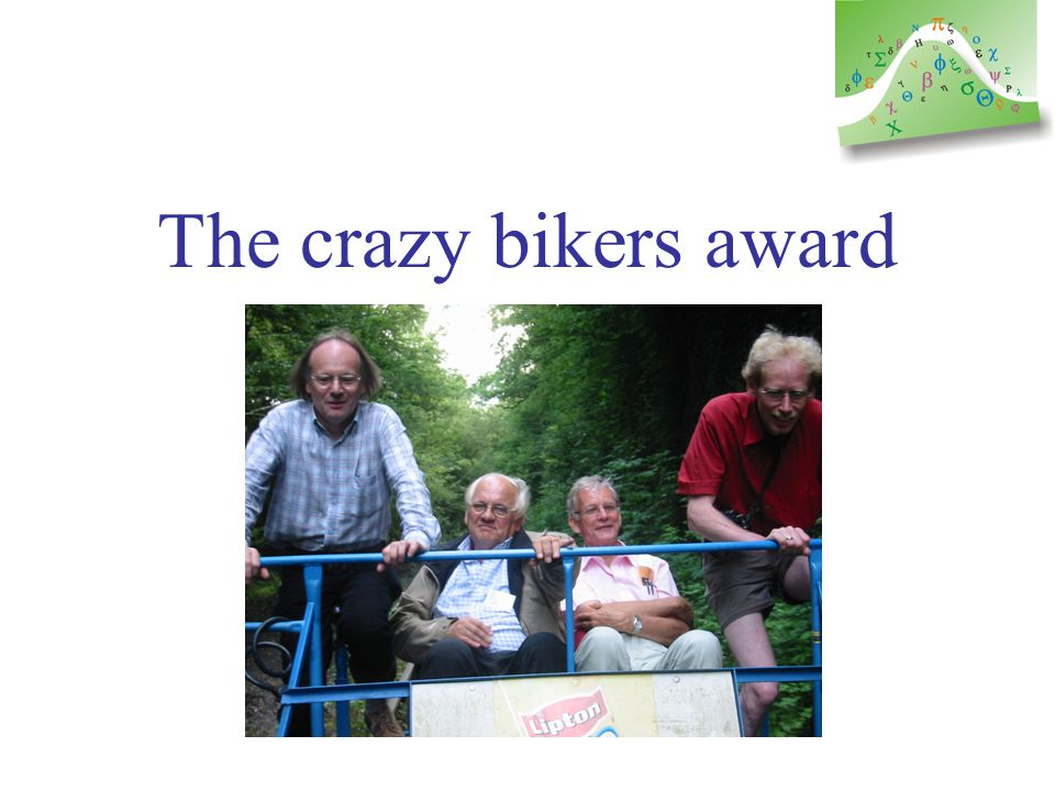 « I take a break » award Lassi Paunonen