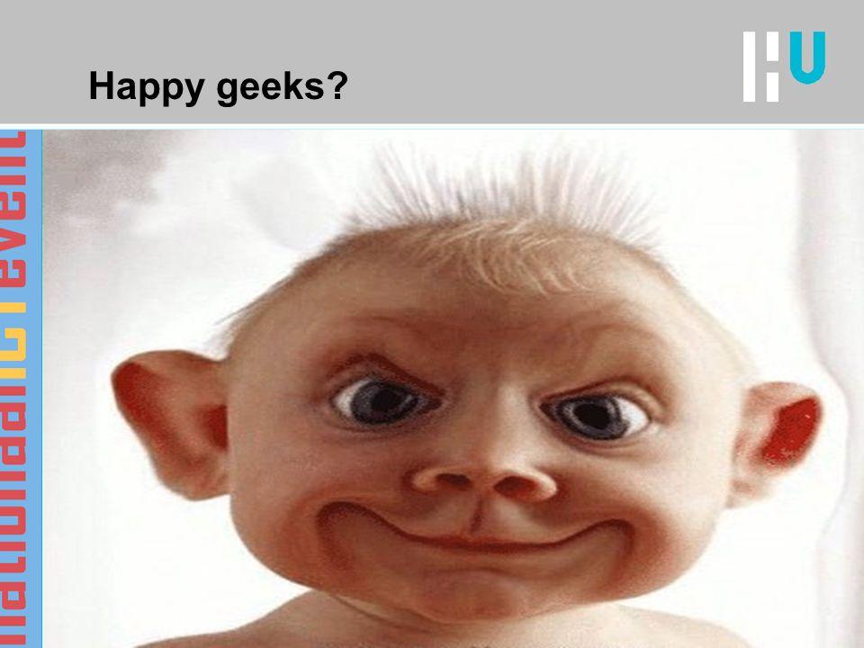 Happy geeks