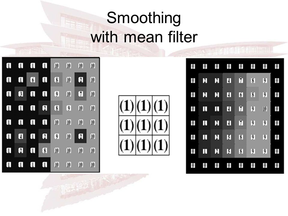 Smoothing with mean filter filtering.gif