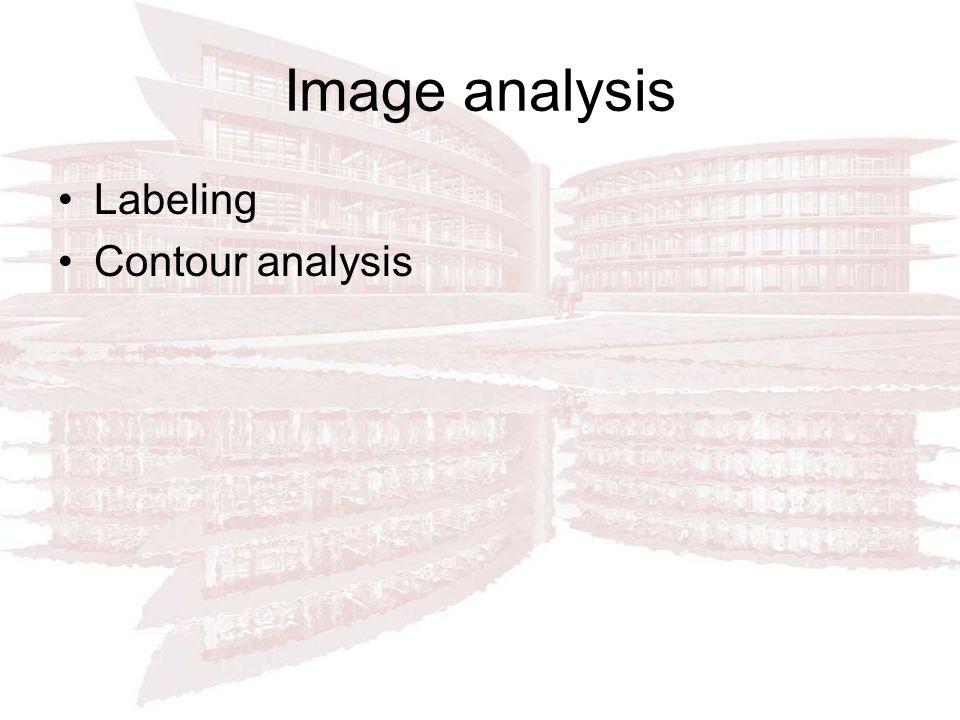 Image analysis Labeling Contour analysis