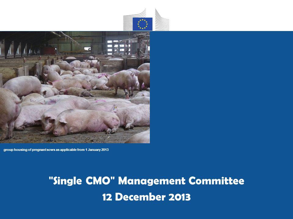 DG AGRI C4 12 December 2013 EU trade of PIG products