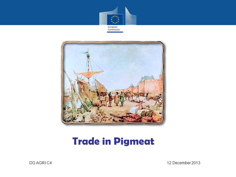 Trade in Pigmeat