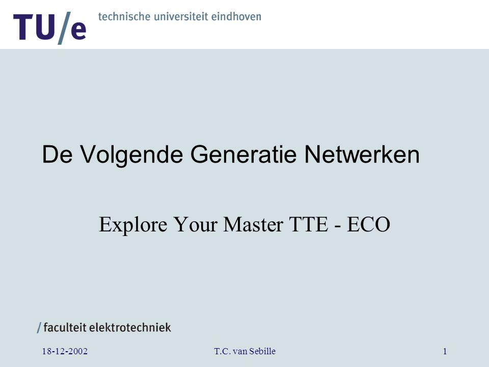 18-12-2002T.C. van Sebille1 De Volgende Generatie Netwerken Explore Your Master TTE - ECO