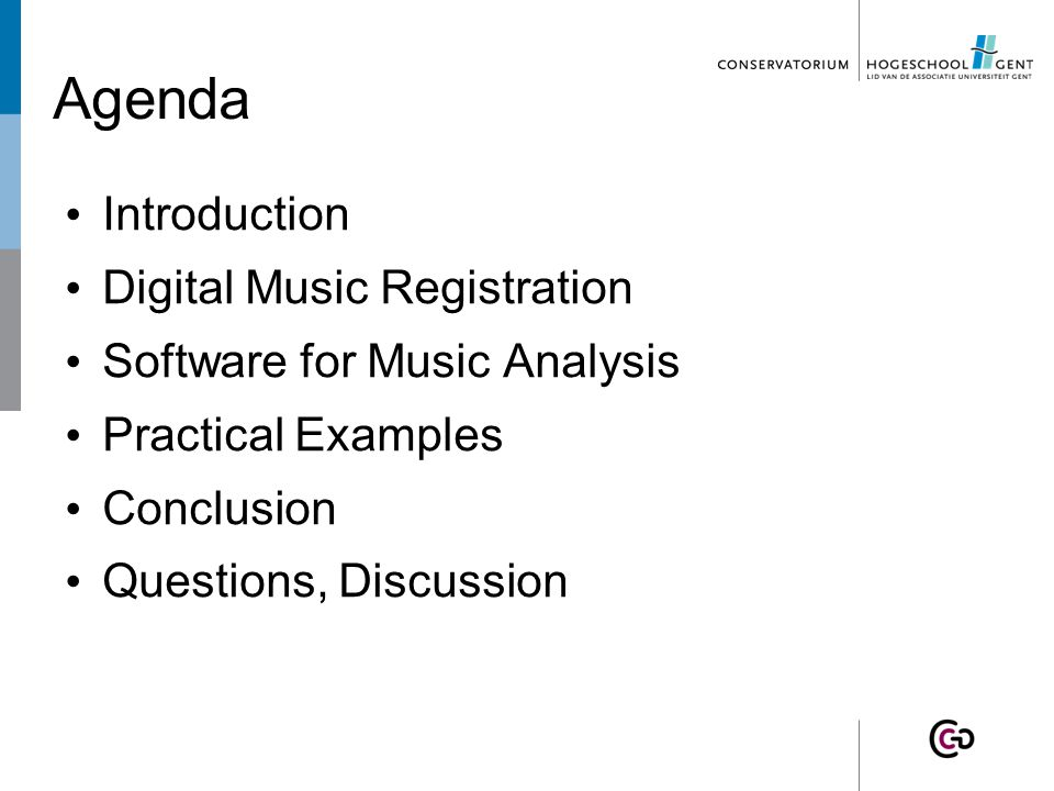 3. Software – Tartini  Harmonics  Vibrato analysis  Pitch http://miracle.otago.ac.nz/tartini