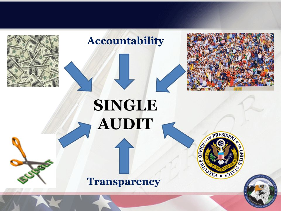 SINGLE AUDIT Accountability Transparency